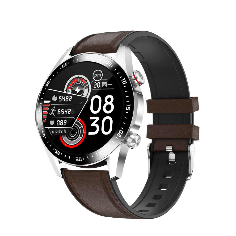 H2adb6f9340994419929e92ea4441712dJ E1-2 Smart Watch Men Bluetooth Call Custom Dial Full Touch Screen Waterproof Smartwatch For Android IOS Sports Fitness Tracker
