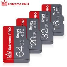 Tarjeta de memoria de alta velocidad, 16GB, 32GB, 64GB, 128GB, Clase 10, microSD SDXC/SDHC, mini tarjetas TF para teléfonos móviles/cámaras