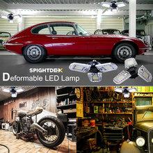 LED Bulb E27 Lampara LED+Lighting Waterproof Bombilla Inteligente Deformable Lamp 110V 220V 60W 80W Ampolleta LED Garage Lamp