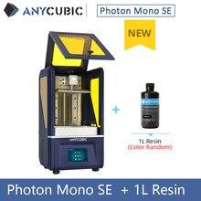 Neue Drucker ANYCUBIC Photon Mono SE 3D Drucker APP Fernbedienung Neue Matrix Parallel Lichtquelle UV Harz 3d drucker