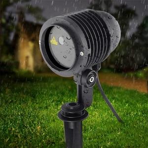 Image 4 - RGB Laser Projector 24 Big Patterns Outdoor Laser Light Garden Waterproof Christmas Landscape Xmas Tree Show Lazer Lighting