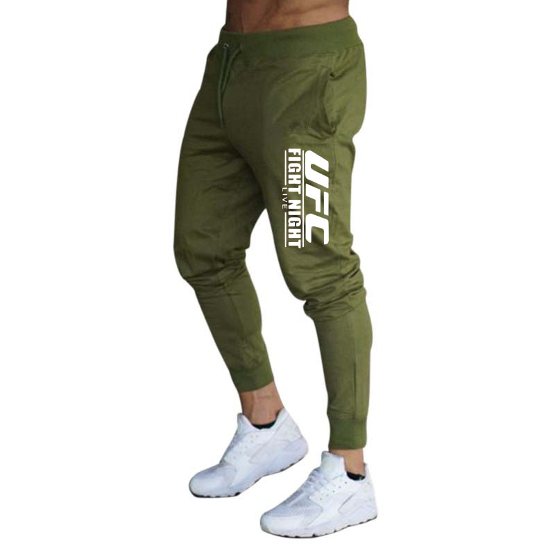 European and American Style Men's sports pants street youth students casual fashion Leggings cotton men's running pants