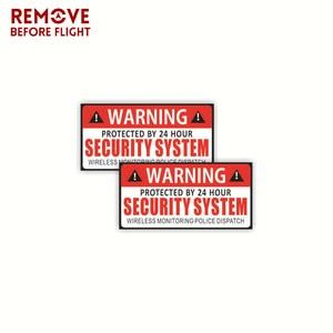 Image 1 - 1 ペア車の安全警告ルール車のステッカーデカール PVC ための車のサンバイザーダッシュボード座席トランクフロントガラスアームレスト