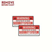 1 paar Auto Veiligheidswaarschuwing Regels Auto Stickers Decal PVC Auto Sticker Voor Auto Zonneklep Dashboard Zetel Kofferbak Voorruit armsteun