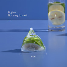 3D Food Grade Silicone Snow Moutain Cube Maker Molds 6cm DIY For Cocktail Whiskey Wine Drink Ice-cream Tools Kitchen Bar Accesso