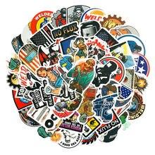10/30/50 pçs criativo caixa de ferramentas capacete soldagem construção aliança capacete bagagem graffiti etiqueta decoração atacado