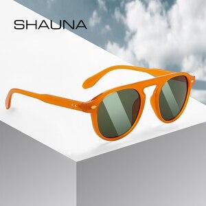 SHAUNA Retro Nail Sunglasses Women Fashi