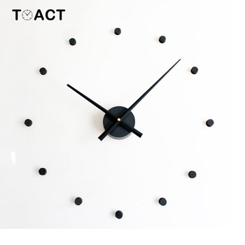 3D DIY Wall Clock Large Size Clocks Sticker Home Decoration Accessories Modern Design Big Wall Watch For Living Room Quartz
