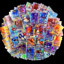 300 Uds 60 uds Pokemon Cartes GX MEGA brillante tarjetas de juego de batalla carta 100 Uds tarjetas de juego de niños juguetes de Pokémon