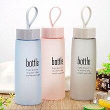 Экологичная новая бутылка для воды пластиковая Спортивная скраб герметичная Питьевая Бутылка для питья уличные спортивные Туристические Бутылки для влюбленных