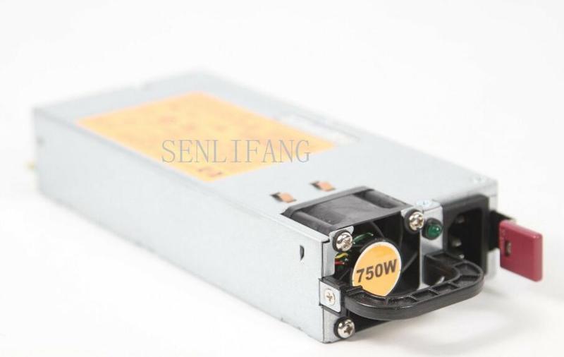 DPS-750RB A 506822-101 506821-001 506822-101 511778-001 12В 62A 750 Вт импульсный источник питания для DL380G6, серверный блок питания