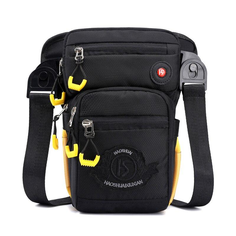 Outdoor Riding Tactical Casual Sports Multi-functional Motorcycle Leggings Bag Running Bag Men's