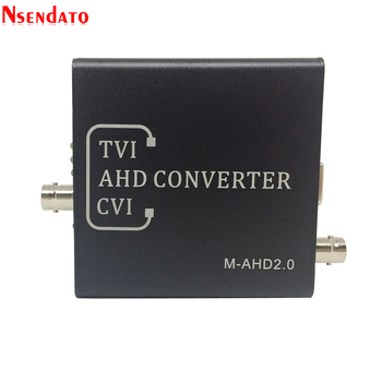 Full HD 5MP 2MP 720P 1080P AHD TVI CVI to HD VGA CVBS Converter Switch For CCTV Camera Video Tester Convert Adapter 1
