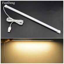 Desk Lamp Dimmable USB Led Bar Night Light Table DC 5V Daily Lighting 3 Colors White Warm