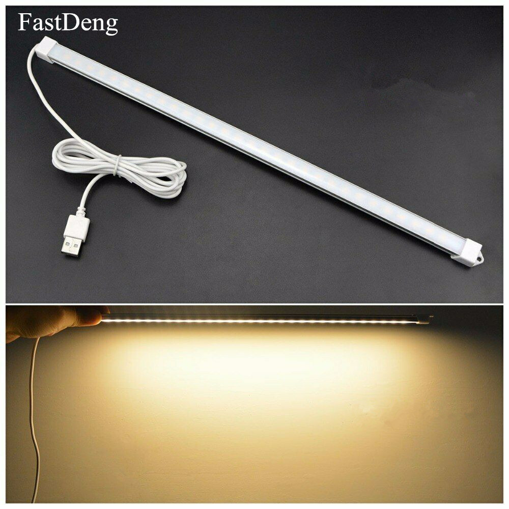 Desk Lamp Dimmable USB Led Bar Night Light Led Table Lamp DC 5V Daily Lighting Night Light Dimmable 3 Colors White Warm White