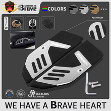 Motorcycle Passenger Footboard Steps Foot Pegs Plate Pad covers For Yamaha TMAX 530 SX DX 2017   2019 TMAX 560 tech max 2020 21