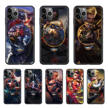LOL League Joint Legends Game Phone Case cover For Iphone 11 7 8 XR 5 5C 5S 6 6S PLUS X XS PRO SE 2020 MAX black waterproof image