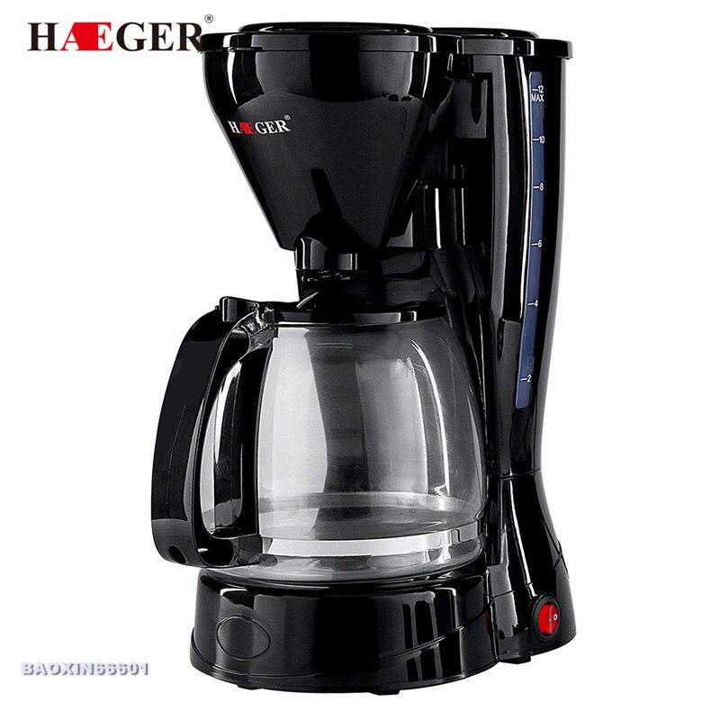 2019 atualizar automático americano gotejamento máquina de café anti-seco máquina de chá de escritório em casa