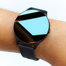 Chycet relógio inteligente masculino corpo termômetro smartwatch mulher pressão arterial de oxigênio fitness rastreador esporte relógio redondo para android ios