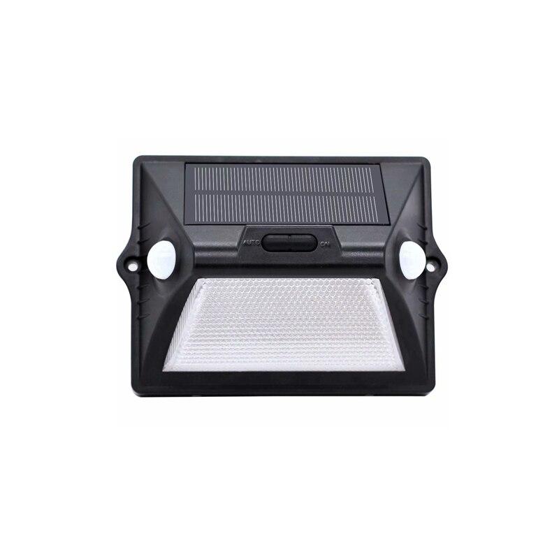 Solar Light Outdoor Dual PIR Motion Sensor Solar Powered Lamp 180 Degree Sensor Wall Lamp RGBW LED Waterproof Garden Solar Light
