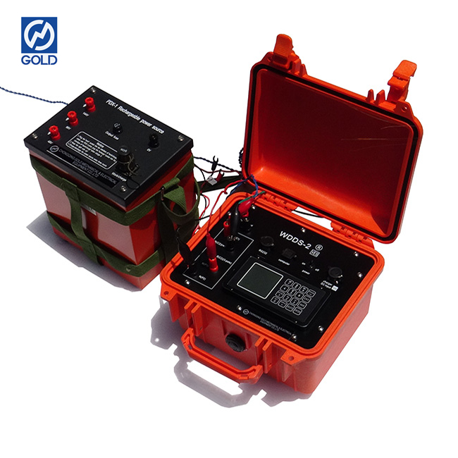 Geophysical Resistivity Meter Mineral Detector Equipment Underground Water Detector Device