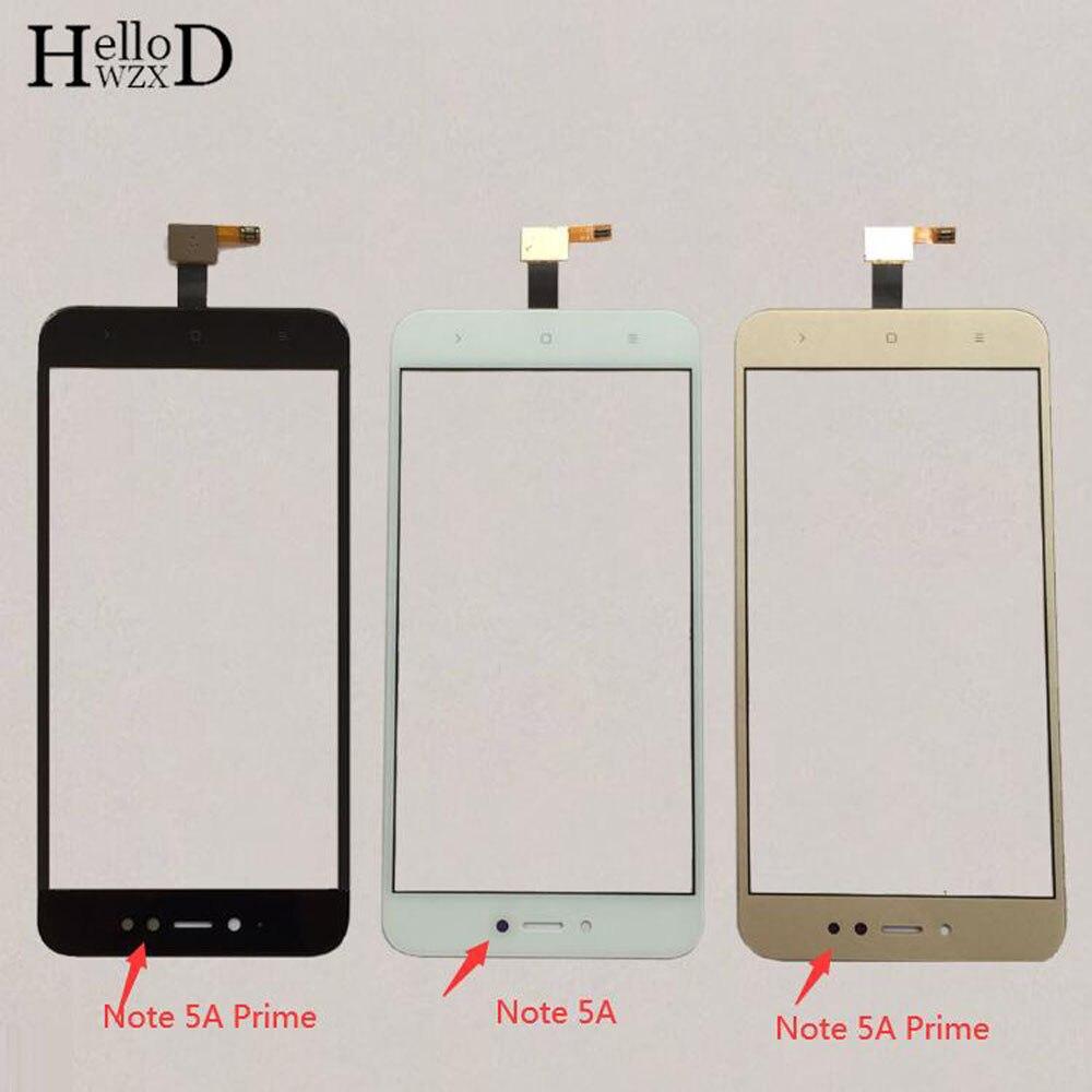 5,5 ''мобильный сенсорный экран для Xiaomi Redmi Примечание 5A сенсорный экран дигитайзер Панель переднее стекло защитная пленка