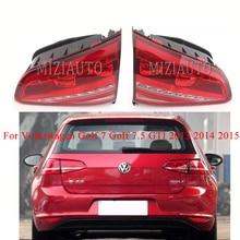 For Volkswagen Golf 7 Golf 7.5 For GTI 2013 2014 2015 Outer side Rear Tail Light MIZIAUTO Rear Bumper Light Brake Light стоимость