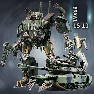 Image 2 - שינוי קטטה BMB שחור ממבה LS 10 LS10 סגסוגת מתכת סרט סרט voyager מהדורה פעולה איור רובוט מעוות צעצועי מתנות