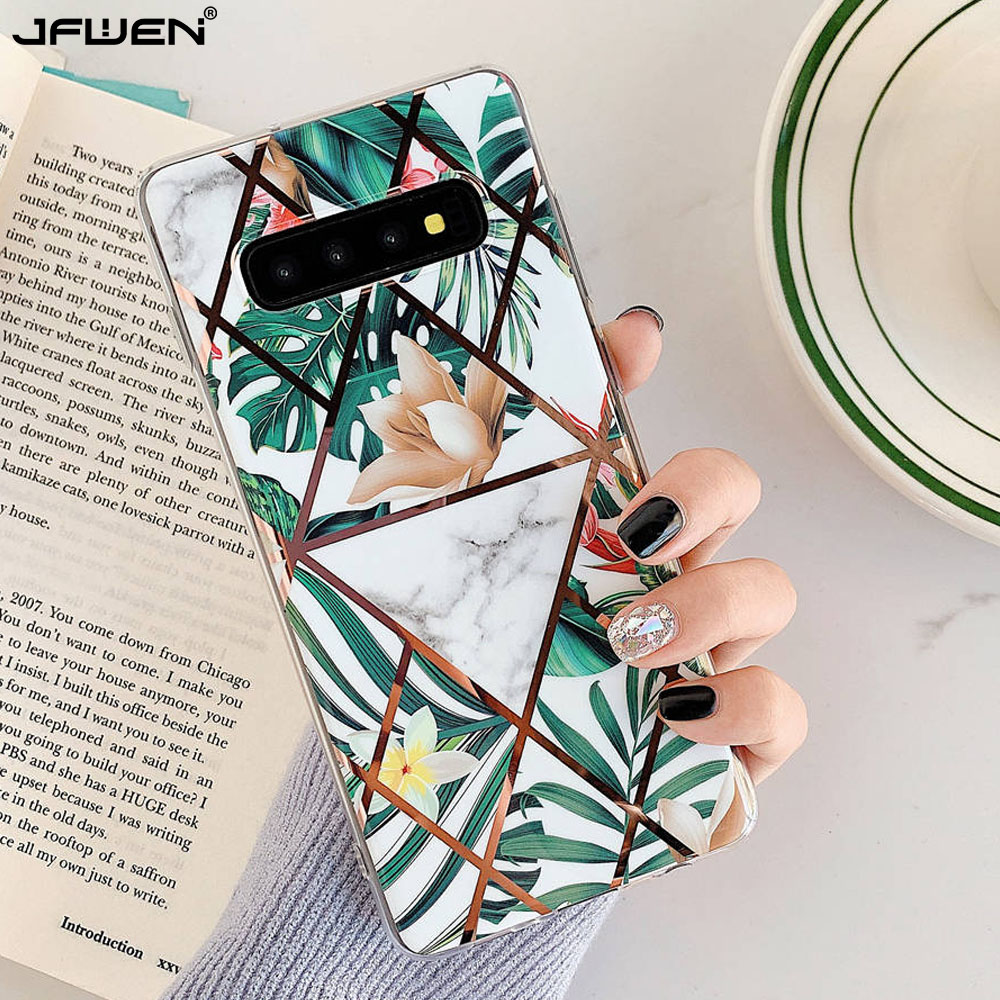 Plating <font><b>Flower</b></font> Phone <font><b>Cases</b></font> For <font><b>Samsung</b></font> <font><b>Galaxy</b></font> S20 Ultra Note 10 9 S10 S9 S8 Plus A10 A50 A30 A20 M10 <font><b>A70</b></font> A30S A50S <font><b>Case</b></font> Cover image