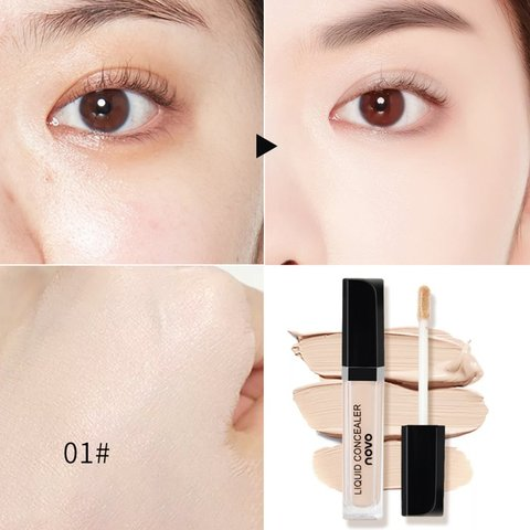 Makeup Novo No Fear Of Silky Smoothing Concealer Freckle Face Covering Spotted Acne Black Eye Concealer Lahore