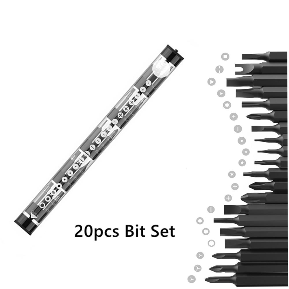 Wowstick1P bitów Zestaw kieszonkowy Precyzyjny mini akumulatorowy - Elektronarzędzia - Zdjęcie 2