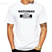 Ezekiel-Camiseta de moda para hombre, camisa de WATCHMAN en la pared, 100% de algodón con personalidad, novedad de 2021