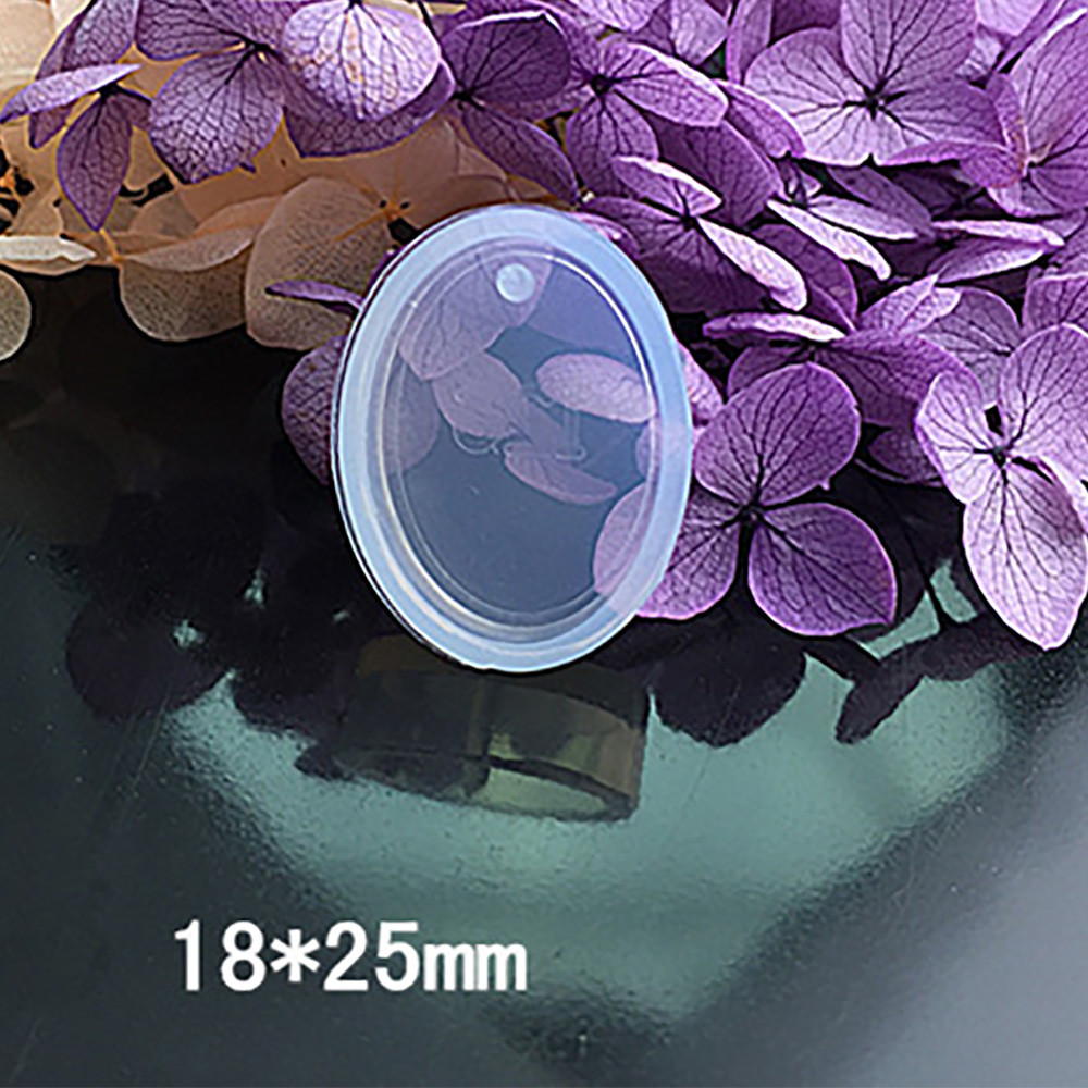 Cake Mould jieGorge 1Set Pendant Silicone Mold Resin Silicone Mould Handmade Tool Epoxy Resin Molds Clear for Christmas Day
