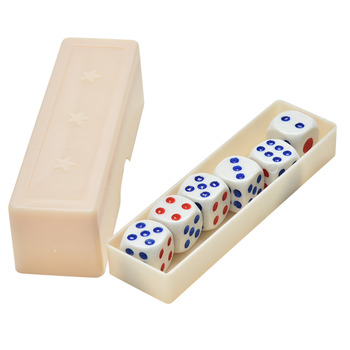 Prediction Dices Normal Dice Six Dice Prediction Box 6 Die Flash Change Changing Effect Close Up Magic Magic Props image