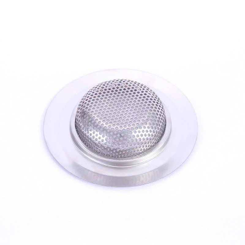 1PC ze stali nierdzewnej wanna wyłapywacz włosów korek spustowy otwór filtr pułapka kuchnia Metal sitko do zlewu