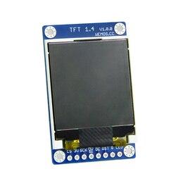 """Dla D1 mini 1.44 """"cal 128X128 SPI LCD ST7735S ESP8266 TFT 1.4 tarcza V1.0.0 moduł wyświetlacza w Obwody od Elektronika użytkowa na"""
