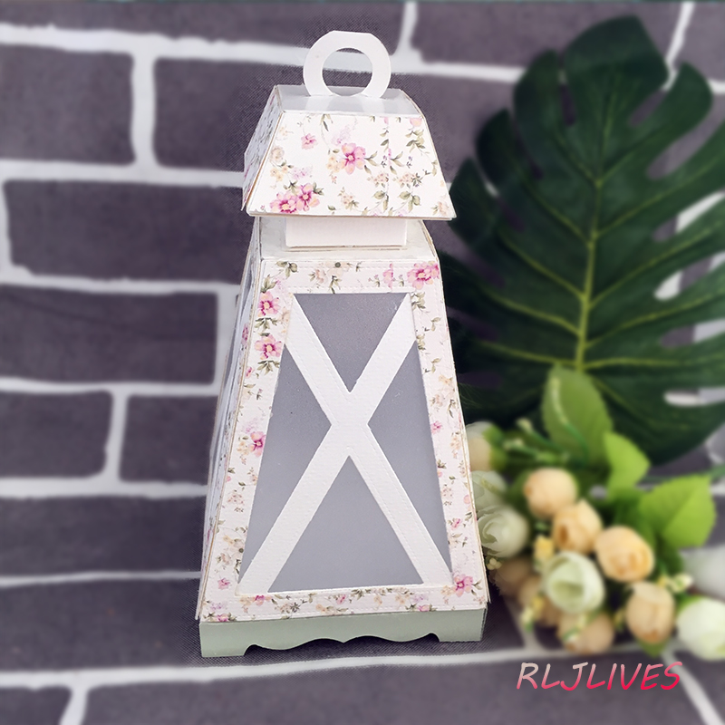 Image 4 - 3D Lantern Metal Cutting Dies For Scrapbooking Stencils DIY Album Cards Decoration Embossing Folder Die Cutter Template-in Cutting Dies from Home & Garden