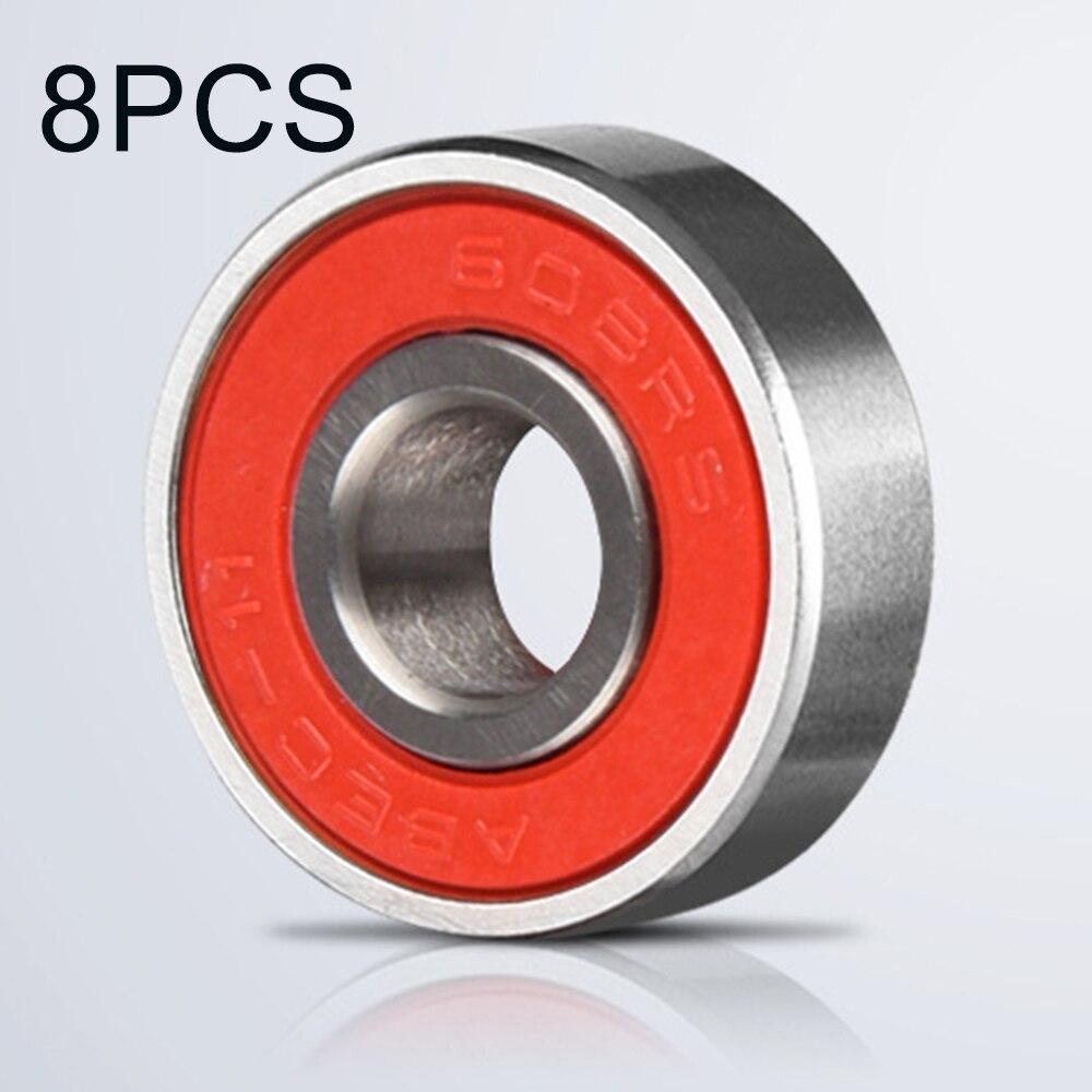 8Pcs ABEC-11 Roller Skate Wheel Bearings High Speed Skateboard Scooter Bearing Upgrade Repair Replacement