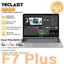 Teclast F7 Plus Laptop 14.1 inch 8GB RAM 256GB SSD Windows 10 Intel Gemini Lake N4100 Quad Core 1920 x 1080 Ultra Thin Notebook