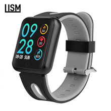 New P68 Smart Watch Men IP68 Waterproof Sports Smartwatch With Heart Rate Monitor Fitness Tracker For iPhone X 7 8 Xiaomi Huawei ogeda men watch bluetooth f6 smartwatch ip68 waterproof heart rate monitor fitness tracker smart watch with multi sport mode t50