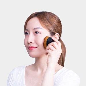 Image 5 - Xiaomi איפור מברשת רך עור ידידותי קרן מברשות נייד Oversize קרן חיסכון קוסמטי מברשת עם תיק נשיאה