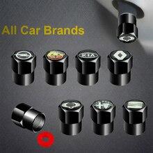 Tire-Valve-Caps Wheel Auto-Goods-Accessories Clubman R55 Coopers R56 Mini R53 Metal