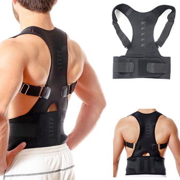 Adjustable Posture Corrector Back Brace Shoulder Lumbar Spine Clavicle Support Belt Corset Posture Correction for Dropshipping цена 2017