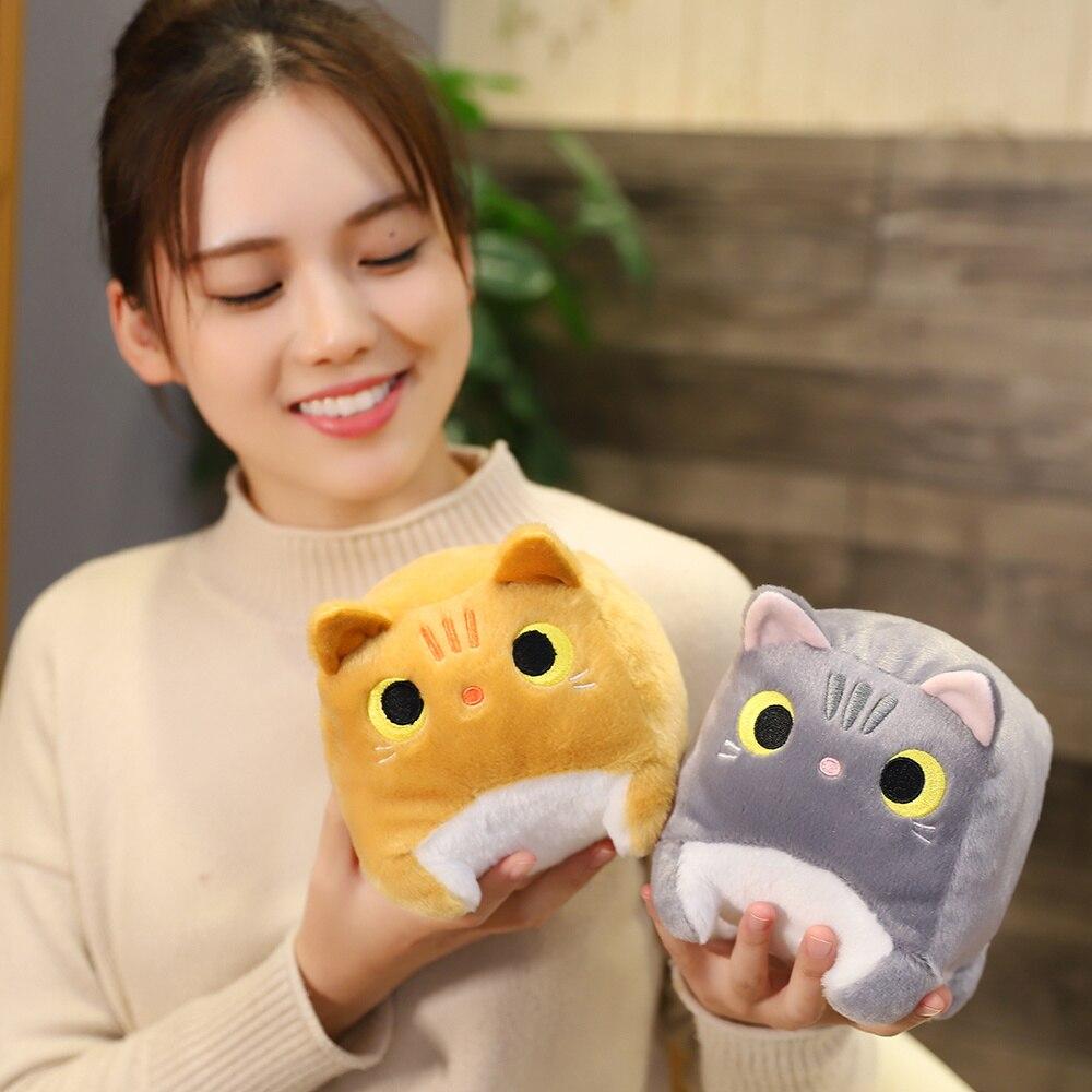 Japanese Anime Square  Cat Plush 2