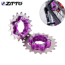 ZTTO MTB Single Speed Cassette Cog Bicycle 1 Speed Sprocket Gear 16T 17T 18T 19T 20T 21T 22T 23T K7 CNC Bike Freewheel