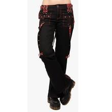 Cargo Pants Ladies Streetwear Vintage Punk Goth Pants  Women Summer High Waist Black Pants Casual Long Trousers joggers New D30