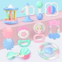 10 шт./компл. Новорожденный ребенок ручной игрушка-погремушка красочные детские руки Graping встряхнуть пищалка погремушка-грызунок Развивающие игрушки