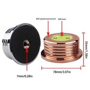 Image 3 - Evrensel 60Hz LP vinil plak çalar disk pikap sabitleyici ağırlığı kelepçe Q81F