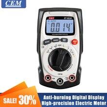 Cem DT-663H/DT-660B medidor elétrico de alta precisão inteligente anti-queima de multímetro digital automático