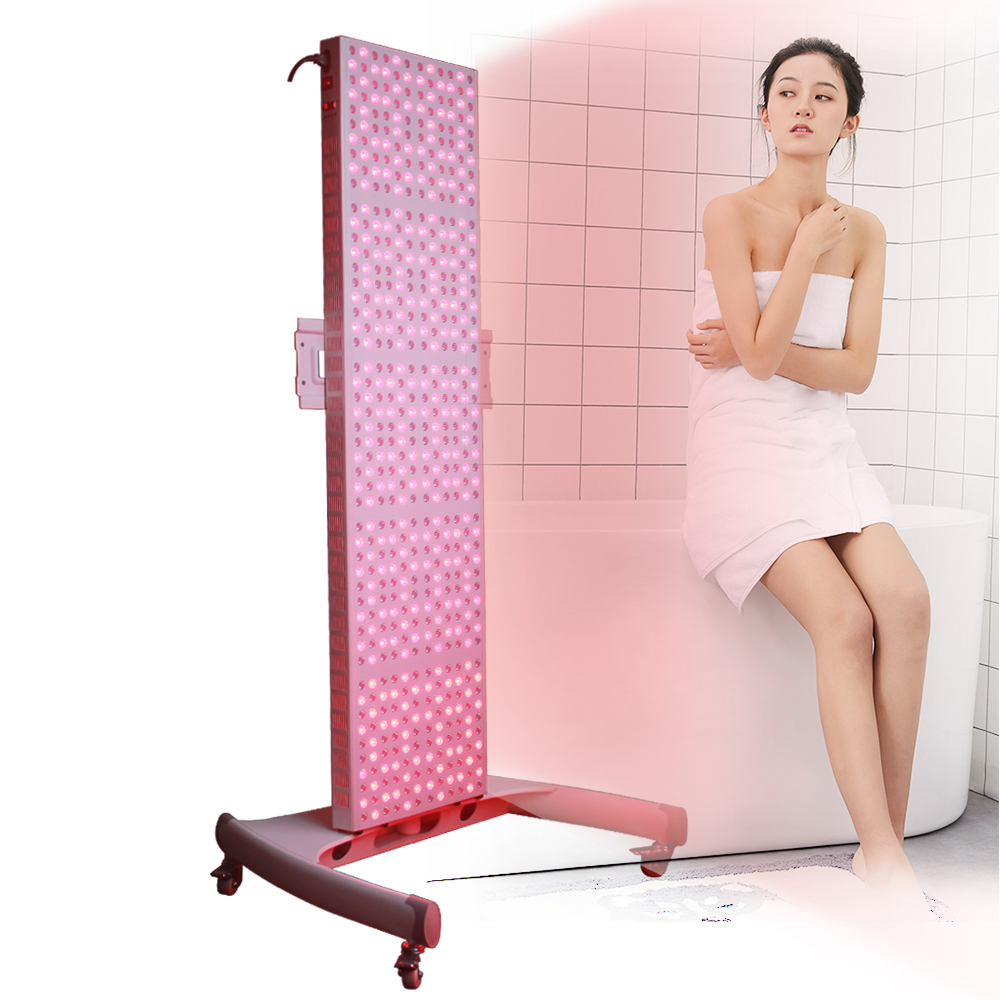 2020 Best Red Light Therapy TL1000 660nm 850nm Full Body 1000W Red Light Therapy Panel With Timer
